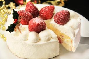 クリスマスケーキの写真素材 [FYI03051072]