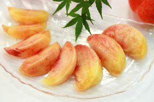 桃の写真素材 [FYI03052472]