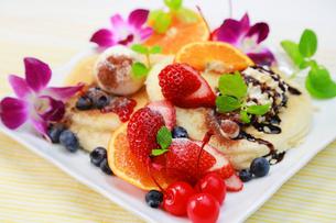 パンケーキの写真素材 [FYI03053033]