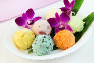 アイスクリームの写真素材 [FYI03053323]