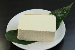 木綿豆腐の写真素材 [FYI03053331]