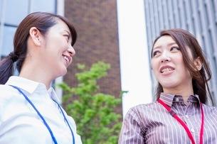笑顔のビジネスウーマンの写真素材 [FYI03053862]
