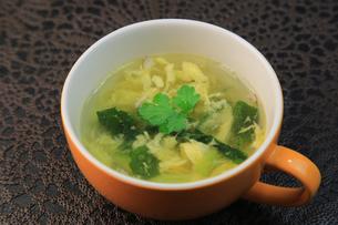 卵スープの写真素材 [FYI03054195]