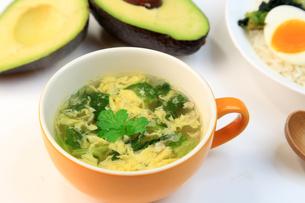 卵スープの写真素材 [FYI03054196]