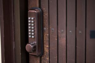 戸の鍵の写真素材 [FYI03054485]