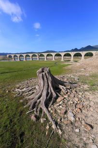 タウシュベツ川橋梁の写真素材 [FYI03055085]