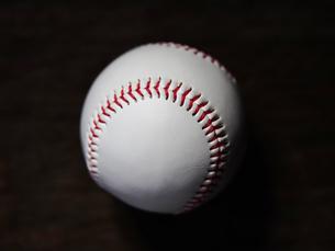 野球のボールの写真素材 [FYI03055128]