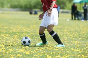 サッカー フットボールの写真素材 [FYI03055262]