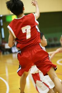 バスケットボールの写真素材 [FYI03055292]