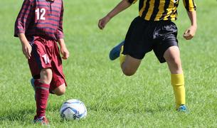 サッカー フットボールの写真素材 [FYI03055311]