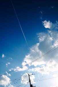 冬の空の写真素材 [FYI03055313]