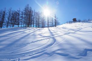 スキー場の写真素材 [FYI03055324]