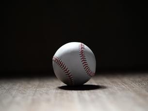 野球ボールの写真素材 [FYI03055406]