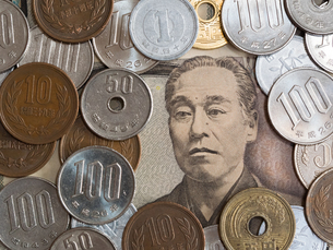 日本のお金の写真素材 [FYI03055470]