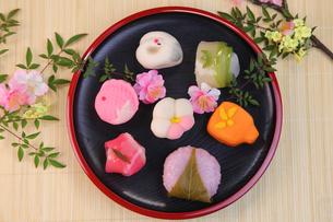 和菓子の写真素材 [FYI03055555]