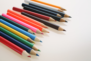 色鉛筆の写真素材 [FYI03055592]