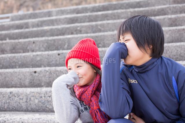 姉妹の写真素材 [FYI03055621]