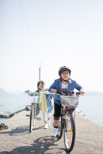 サイクリングの写真素材 [FYI03055629]