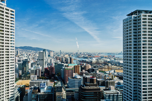 神戸の街並の写真素材 [FYI03055737]