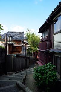 金沢市 主計町の写真素材 [FYI03055850]
