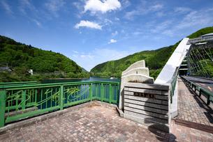 奥多摩湖 深山橋の写真素材 [FYI03055857]
