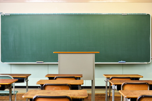 学校の教室の写真素材 [FYI03055909]