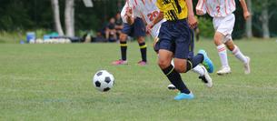 サッカー フットボールの写真素材 [FYI03055915]