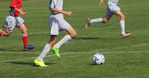 サッカー フットボールの写真素材 [FYI03055928]