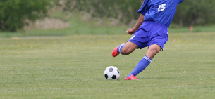 サッカー フットボールの写真素材 [FYI03055931]