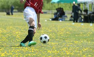 サッカー フットボールの写真素材 [FYI03055934]