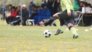 サッカー フットボールの写真素材 [FYI03055935]
