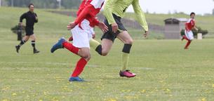 サッカー フットボールの写真素材 [FYI03055938]