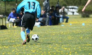 サッカー フットボールの写真素材 [FYI03055942]