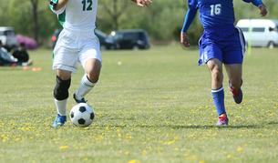 サッカー フットボールの写真素材 [FYI03055943]