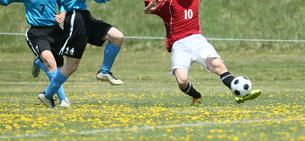 サッカー フットボールの写真素材 [FYI03055947]