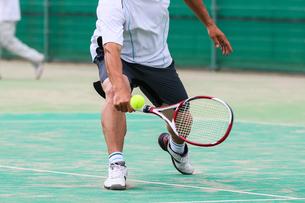 テニスの写真素材 [FYI03055952]