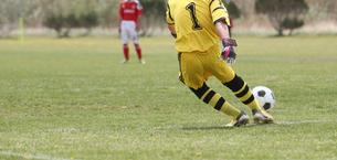 サッカー フットボールの写真素材 [FYI03055956]