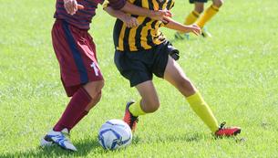 サッカー フットボールの写真素材 [FYI03055967]