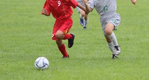 サッカー フットボールの写真素材 [FYI03055968]
