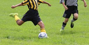 サッカー フットボールの写真素材 [FYI03055975]