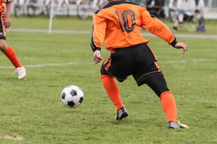 サッカー フットボールの写真素材 [FYI03055980]