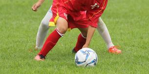 サッカー フットボールの写真素材 [FYI03055982]