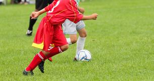 サッカー フットボールの写真素材 [FYI03055983]
