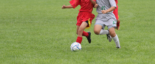 サッカー フットボールの写真素材 [FYI03055985]