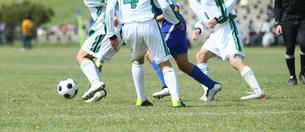 サッカー フットボールの写真素材 [FYI03055988]