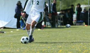 サッカー フットボールの写真素材 [FYI03055989]