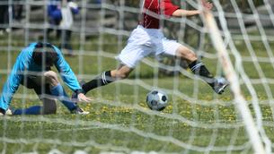 サッカー フットボールの写真素材 [FYI03055992]