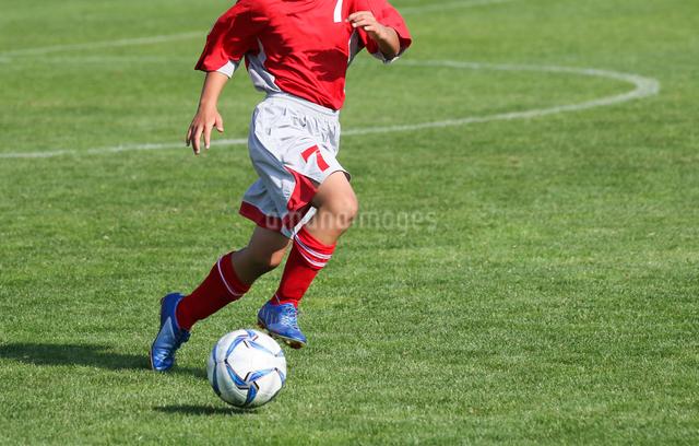 サッカー フットボールの写真素材 [FYI03056022]