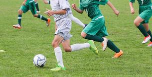 サッカー フットボールの写真素材 [FYI03056028]