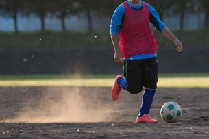 サッカー フットボールの写真素材 [FYI03056035]